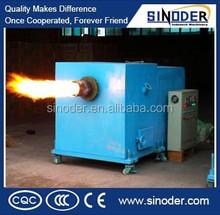 biomass wood pellet burner , biomass powder burner , sawdust biomass burner for providing heating value for dryer , boiler