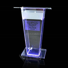 Acrylic led lectern,school furniture ,party products