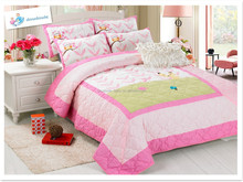 High Quality 100% Cotton Embroidery Quilt