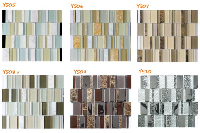 Di alta qualità striscia della parete bagno mosaico piastrelle per ...