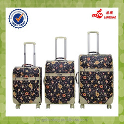 Popular Personalised Design PU Material Match Color China Luggage Cheap Price