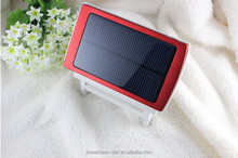New Dual USB Output Cheap Solar Power Bank 10000mah of Good Quality for Outdoor Sports