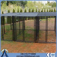 Heavy duty or galvanized comfortable stainless steel dog crate