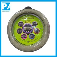 Hot sale car channel silicone steering wheel cover