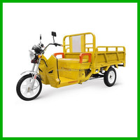 China Electric Moped Cargo Tricycles /Three Wheel Cargo Motorcycles