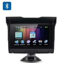 "Waterproof Windows CE 6.0 DDR 128MB+4GB 800*480 pixels Motorcycle Gps Auto Navigation 5.0"""
