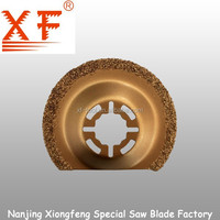XF-H030: Tungsten Carbide Grit oscillating multi tool saw blades
