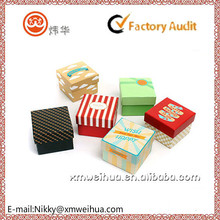 2015 customized colorful paper box for gift