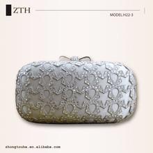 shining high quality clutch purse clutch box cosmetic bag evening bag