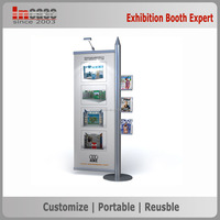 Portable advertising exhibition holographic display stand for fairs