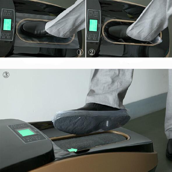 Top qualité chaussures automatique couvrent les machines pour clinique