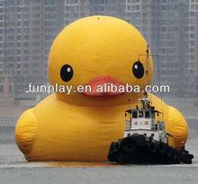 HI giant yellow inflatable duck