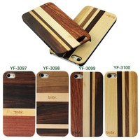 Real wood back case for iphone / natural wooden case for iphone 5s / case for iphone 5 wood