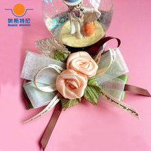 11cm*8cm hand-made ribbon butterfly Hair Accessories girls hair clip