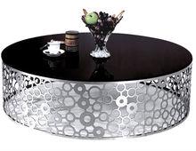 unique round plexiglass table top for sale 081 A