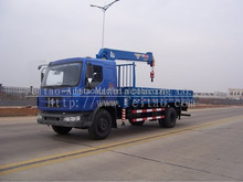 Small hydraulic crane 6ton unic truck mounted cane