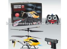 Fashion 3.5CH Alloy Model Helicopter With Gyro Infrared Gun