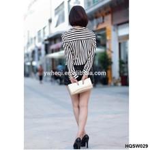 formales blusas de mujer con estilo camisetas de rayas