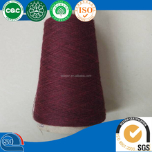 dyed cotton melange yarn from china supplier