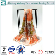 China wholesale market agents famous brand silk scarf