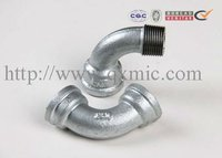 china hot sale low price plumbing material galvanized din standard pipe fitting elbow tee cap reducer flange
