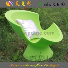 Sillas exterior / café sillas / muebles piscina, silla de plástico verde