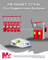 FM200 Fire Suppression system for HFC-227EA