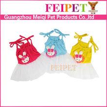 adorable xxxs dog clothes wholesale sexy dog dress with shoulder-straps