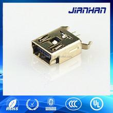 mini usb 5pin female connector