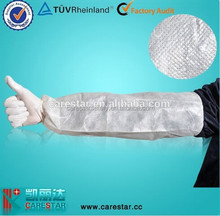 Disposable Hand made waterproof plastic arm sleeves