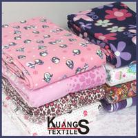 stretch baby flannel fabric