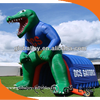 Interior & Exterior Inflatable Structure Tunnel/Inflatable Gator Mascot Tunnel/Inflatable Sport Tunnel