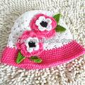 2014 вязание крючком шляпу, крючком шапочки с цветком