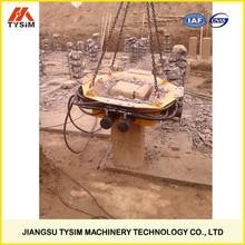 concrete pile cutting machine, KP500S, cut machine hydraulic cutters, apply in different terrains