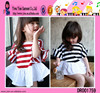 Korean Style Clothes New Design Summer High Quality Cute Baby Girls Short Sleeve Ruffle Frocks