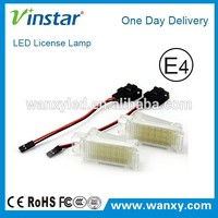 Error Free Auto Canbus A-udi Q7 Led License Plate Light