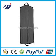 Zippered portable garment bag suit cover