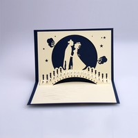 Lover Valentine 3D Pop Up Greeting Card