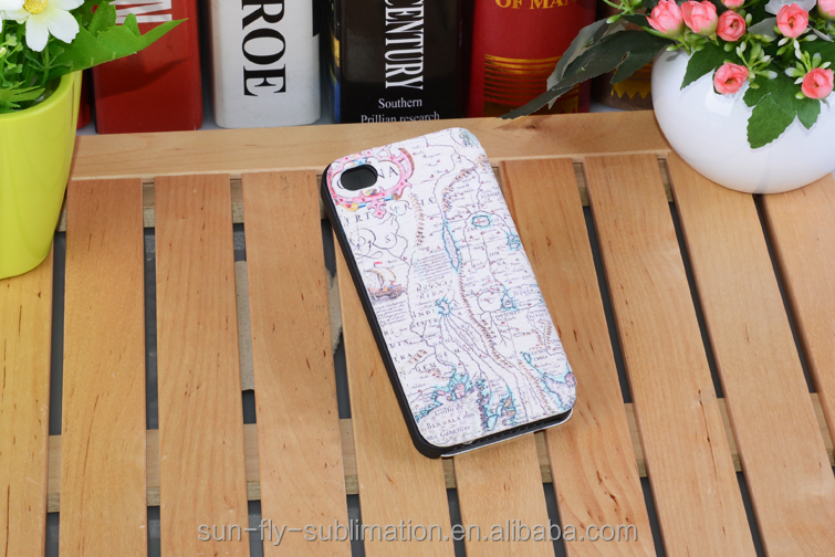 Leather phone case for iphone 4/4s; leather cell phone case; leather phone cover; blank cover for iphone 4/4s