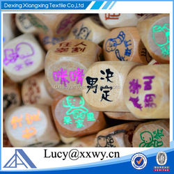 2015 New Wooden Dice,Hot Sale Dice Game,High Quality playing dice