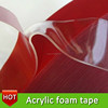 Hot Sell Auto Double Side VHB Acrylic Foam Tape With Good Adhesion