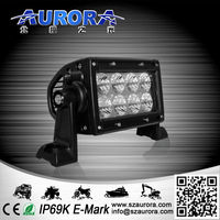 Nice and cute AURORA 4inch double row 40w led headlight
