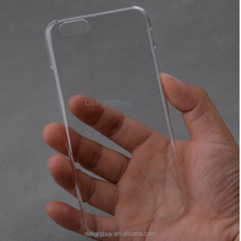 For iPhone 6 Case Transparent Crystal Clear Hard PC Back Cover, phone case for iphone 6/6s 4.7