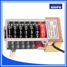 Counter of the PC material ,Hot sale stepper motor counter,Single phase stepper motor counter for energy meter