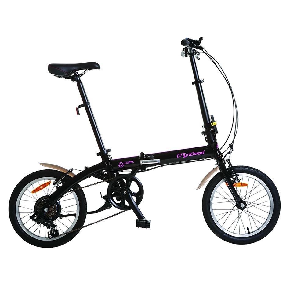 Kullanılan japon katlanır bisiklet çin'de yapılan katlanır bisiklet 16 inç