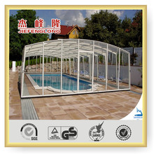 good heat insulation twin wall polycarbonate hollow sheet swimming pool cover