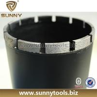 superhard tools Matrix Segment Granite Dry Cutting Diamond Core Drill Bit for Stone Concrete