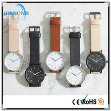 OEM uniform 12 styles custom your logo color quartz hand watch changing watch dials