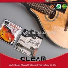 Recubierto de plata cuerdas de mandolina de acero