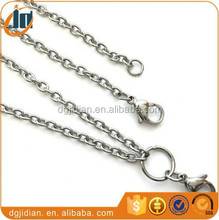 Chains Necklaces Type and Anniversary,Engagement,Gift,Party,Wedding,public Occasion rolo chain for lockets